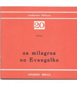OS MILAGRES NO EVANGELHO