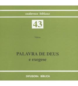 PALAVRA DE DEUS E EXEGESE