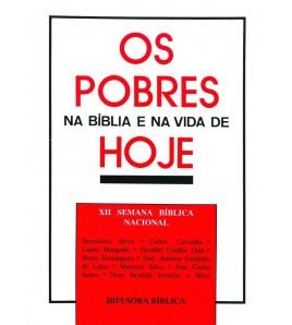 OS POBRES NA BÍBLIA E NA VIDA DE HOJE