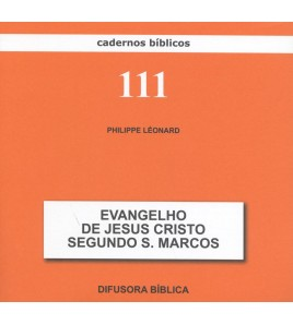 EVANGELHO DE JESUS CRISTO SEGUNDO S. MARCOS
