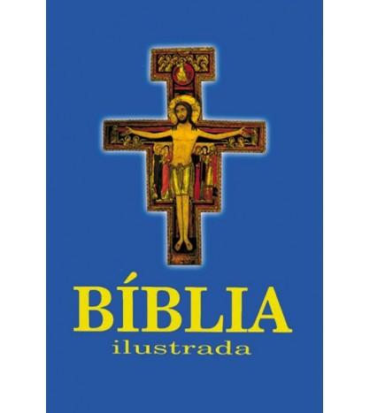 BÍBLIA SAGRADA ILUSTRADA – DOURADA