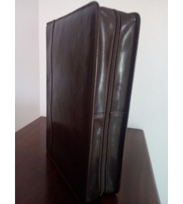CAPA BÍBLIA ILUSTRADA (Couro)