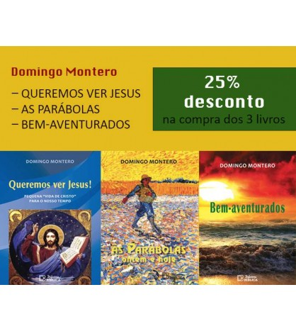 DOMINGO MONTERO - Pack 3