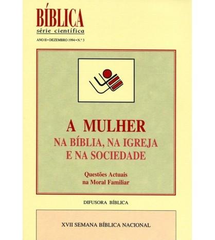 A MULHER NA BÍBLIA, NA IGREJA E NA SOCIEDADE